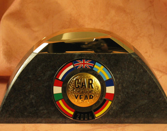 Trophy won by Fiat Panda
