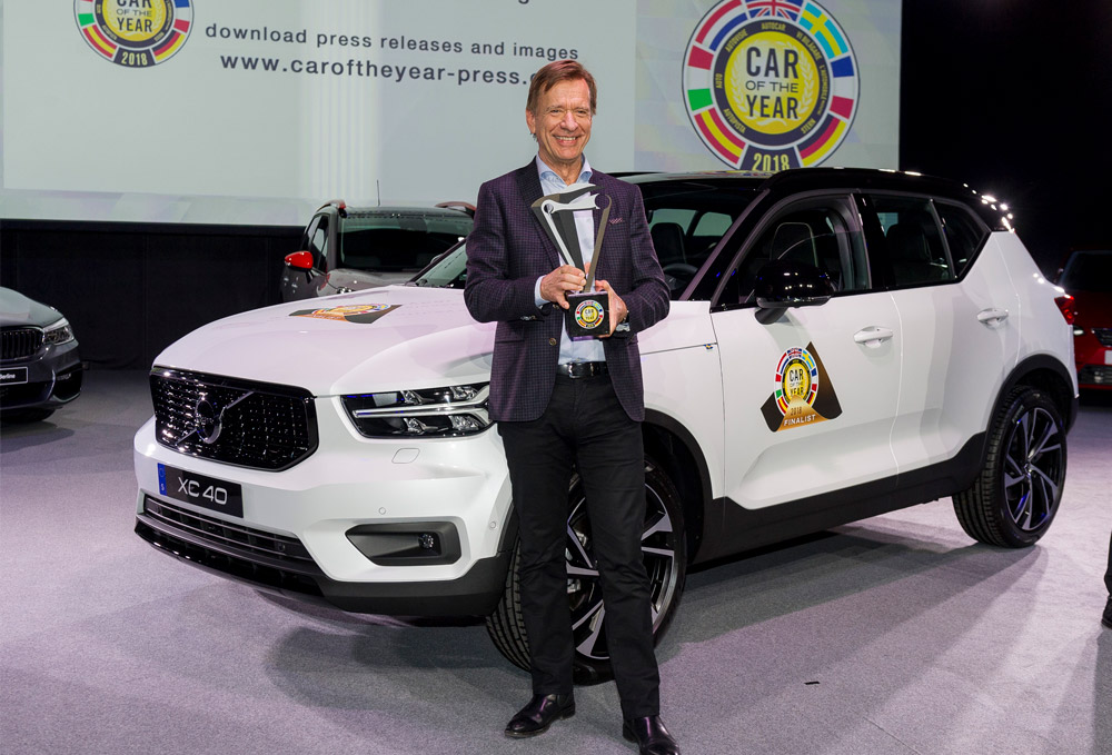 Sweeping win for Volvo XC40